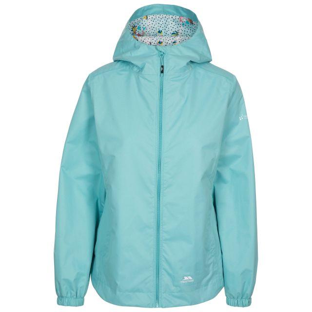 Trespass Women's Waterproof Shell Jacket Rosneath Light Blue