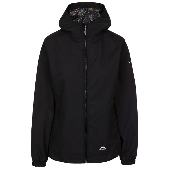 Trespass Women's Waterproof Shell Jacket Rosneath Black