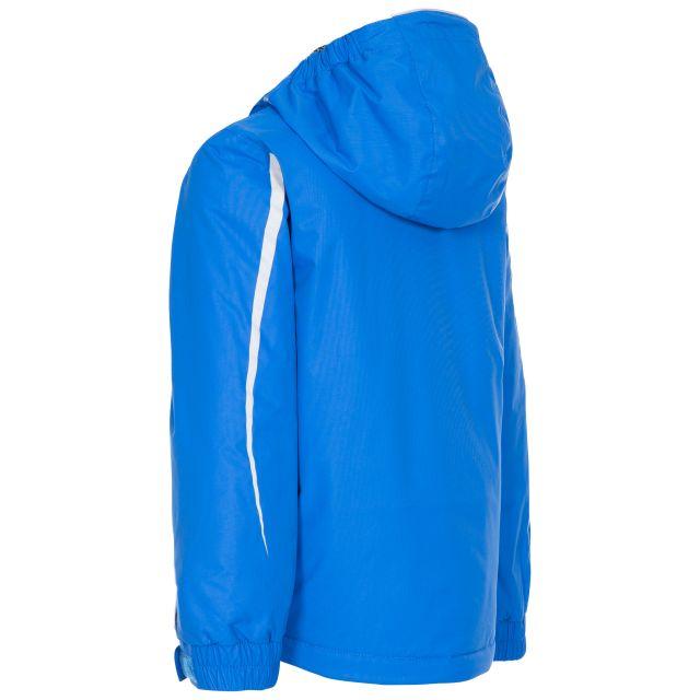 Trespass Kids Padded Ski Jacket in Blue Scarce