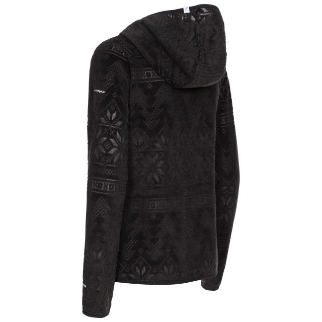 Snowbelle Women's Fleece in Black