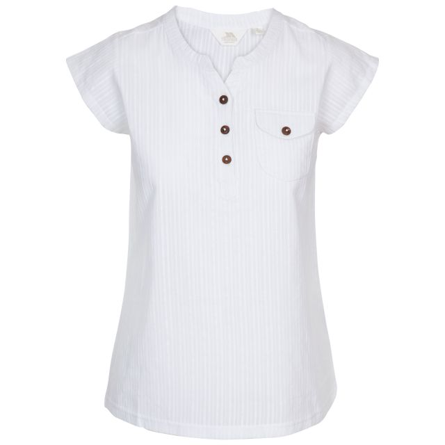 Trespass Women's Button-up Blouse Tricia White