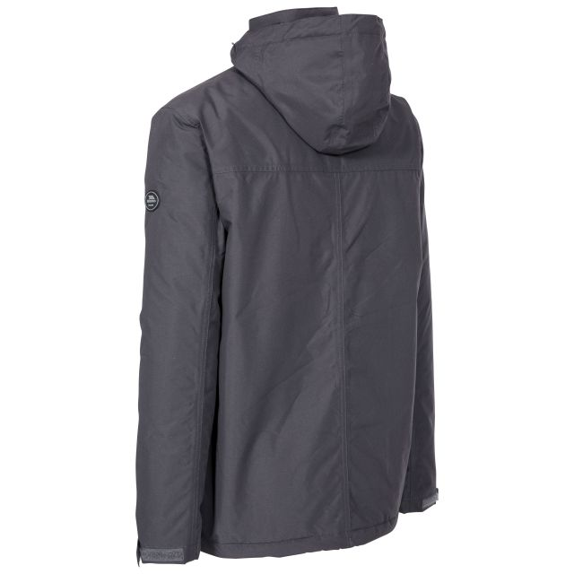 Vauxelly Men's Padded Waterproof Jacket in Dark Grey