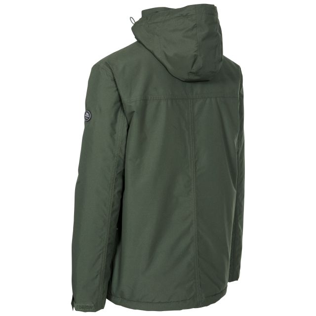Vauxelly Men's Padded Waterproof Jacket in Olive