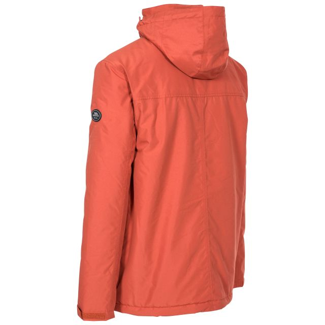 Vauxelly Men's Padded Waterproof Jacket in Spice