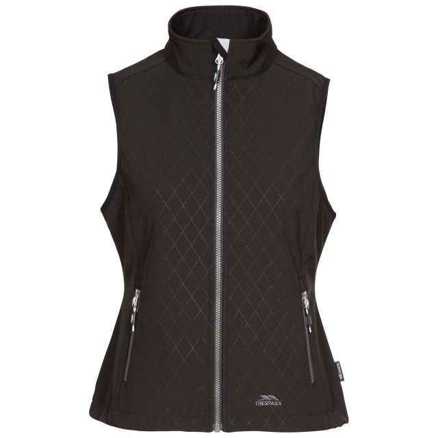 Verity Women's Softshell Gilet in Black