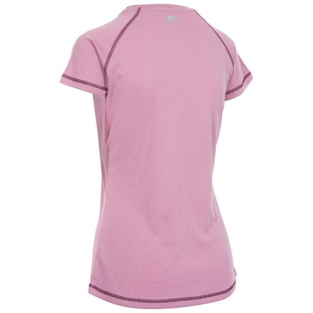 Viktoria Women's Active T-Shirt in Light Purple, Front view on mannequin