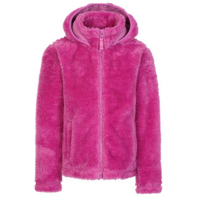 Trespass Womens Fleece in Pink Faux Fur Violetta
