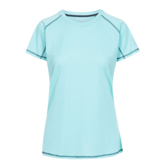 Viktoria Women's Active T-Shirt in Light Blue