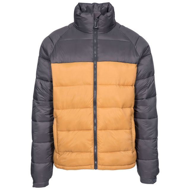 Yattendon Men's Padded Jacket - SAN, Front view on mannequin