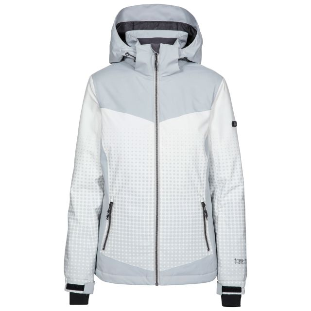 Zenya Women's Waterproof Ski Jacket in Grey