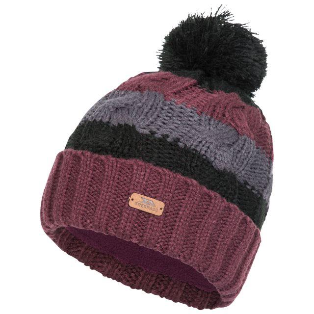 Zoya Knitted Hat in Black