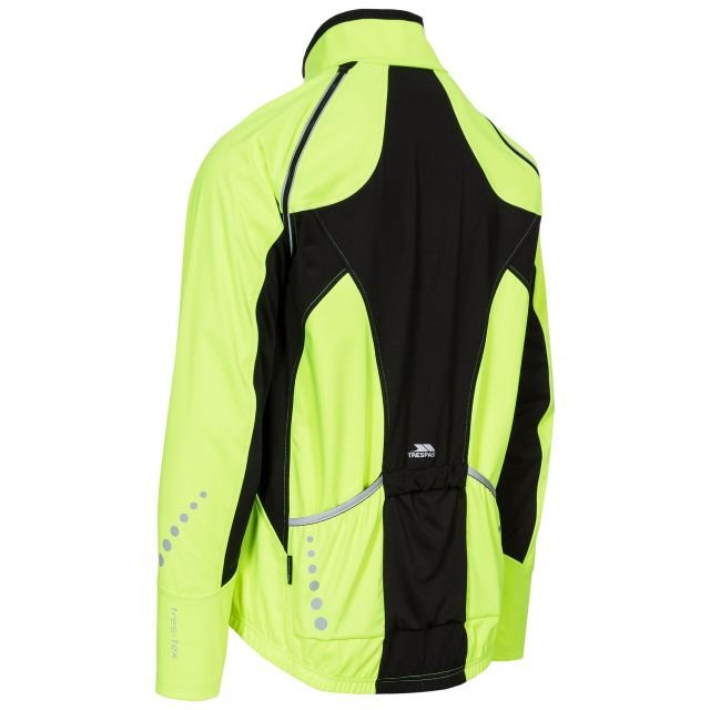 Aaron Men's Softshell Running Jacket in Yellow
