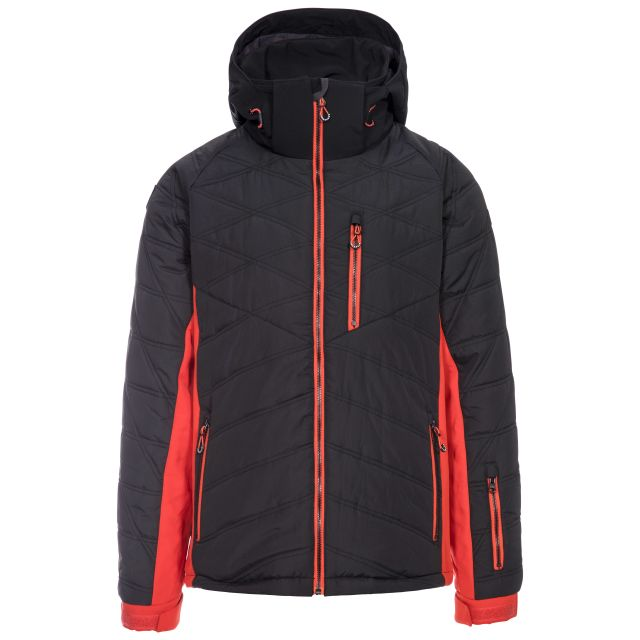 Abbotsbury Men's Windproof Ski Jacket in Black