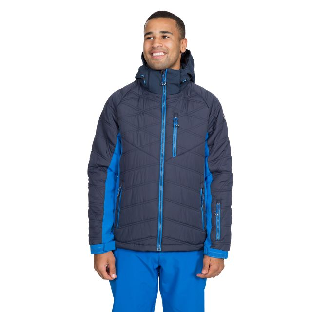 Abbotsbury Men's Windproof Ski Jacket in Navy