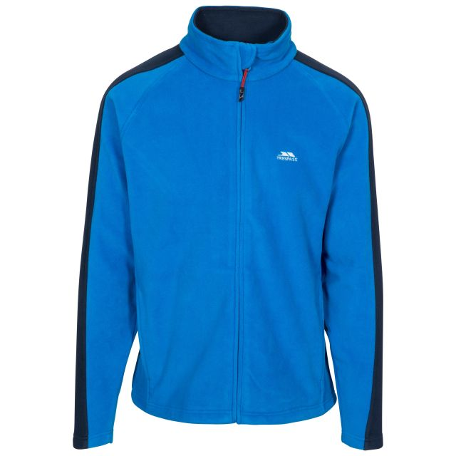 Acres Men's Fleece Jacket in Blue