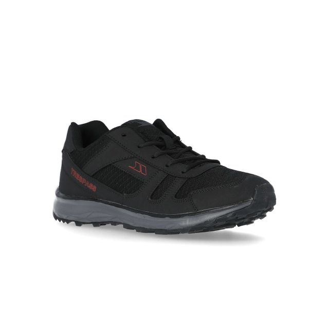 Acute Men's Cushioned Trainers in Black