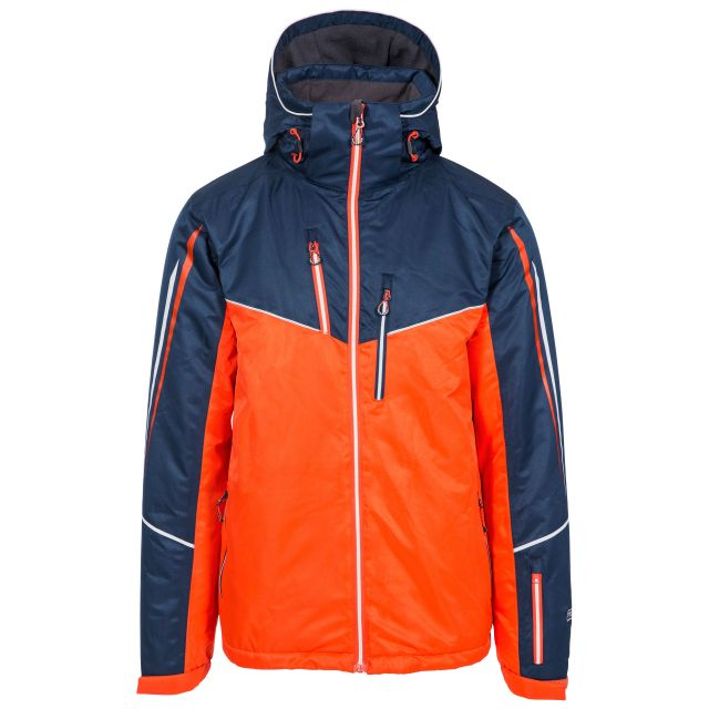 Adwell Men's Waterproof Ski Jacket in Navy