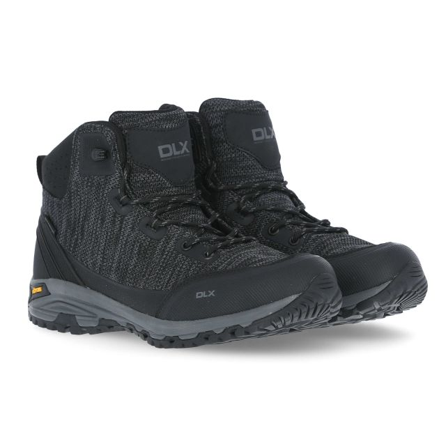 Aitkan Men's DLX Vibram Walking Boots in Black
