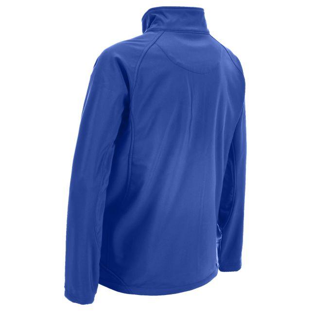 Akron Men's Softshell Jacket in Blue
