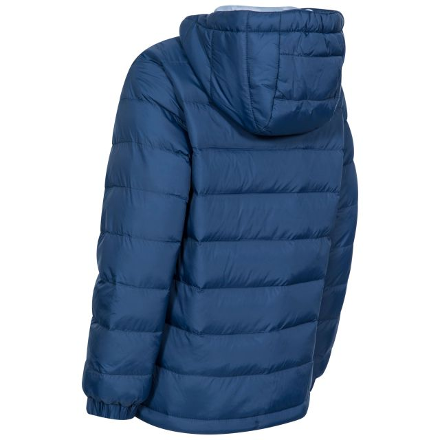 Aksel Kids' Padded Casual Jacket in Navy
