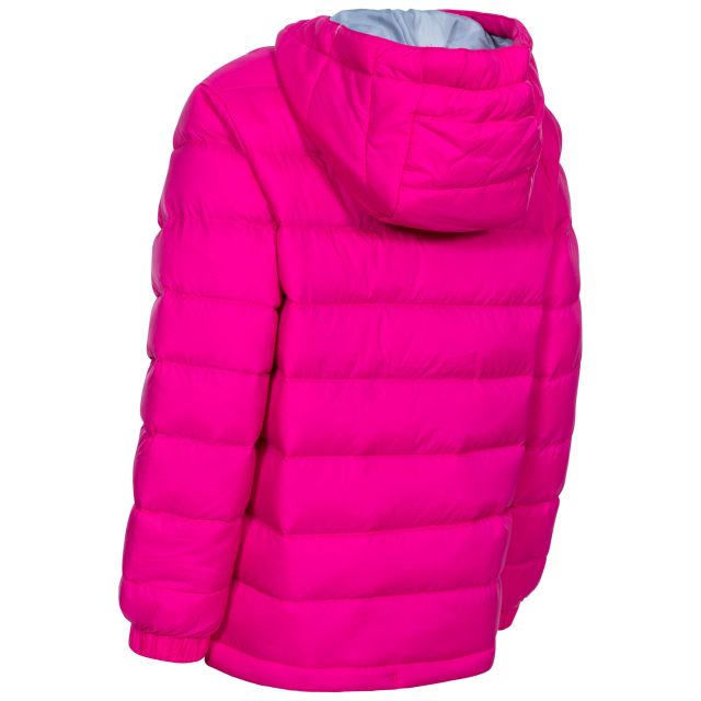 Aksel Kids' Padded Casual Jacket in Pink