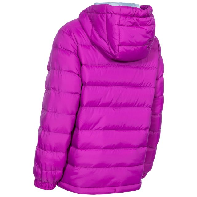 Aksel Kids' Padded Casual Jacket in Purple