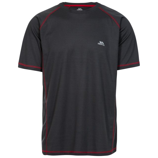 Albert Men's Quick Dry Active T-Shirt in Grey