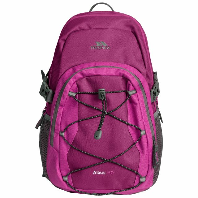 Albus 30L Backpack in Burgundy