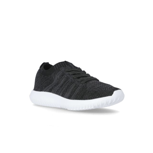 Alexis Women's Memory Foam Trainers in Grey