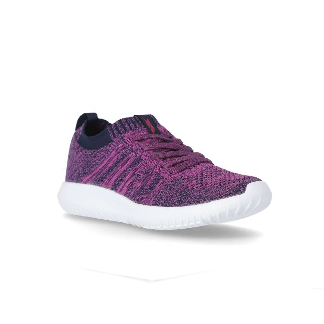 Alexis Women's Memory Foam Trainers in Pink