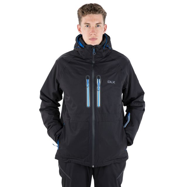 Allen Men's DLX RECCO Waterproof Ski Jacket - BLK