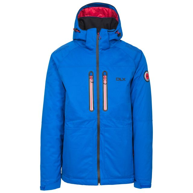 Allen Men's DLX RECCO Waterproof Ski Jacket - BLU
