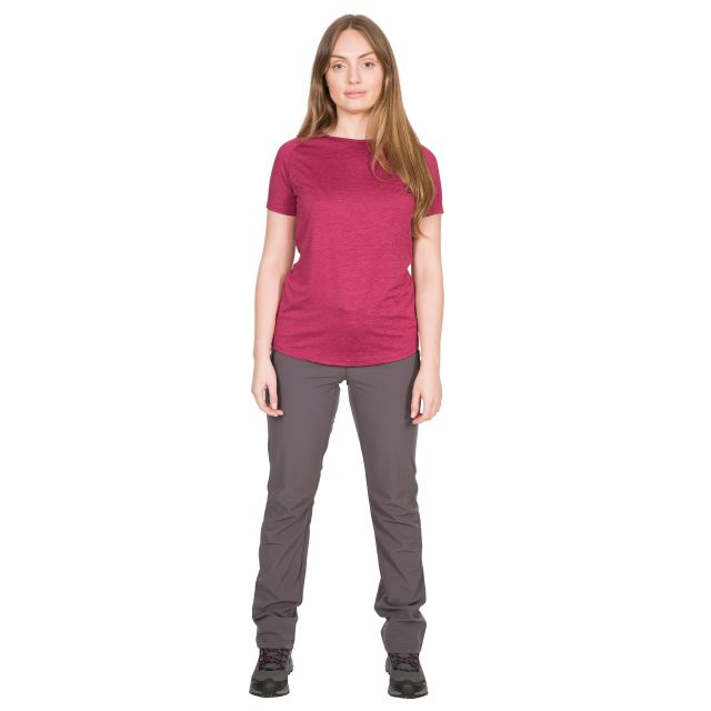 Ally Women's DLX Active T-Shirt in Purple