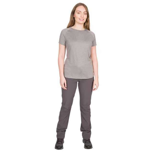 Ally Women's DLX Active T-Shirt in Light Grey