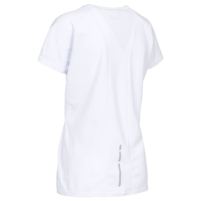 Alonza Women's DLX Quick Dry T-Shirt in White
