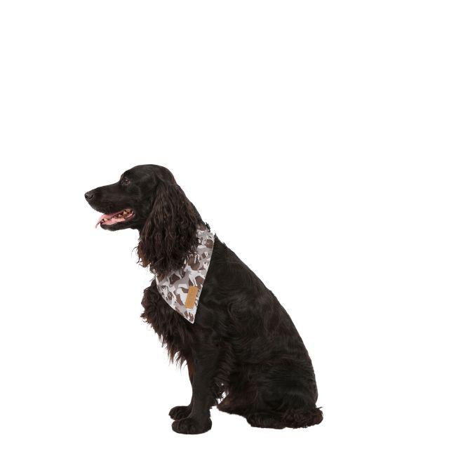 Trespass Dog Insect Repellent Bandana Alpha - GREY DOG CAMO XXS/S