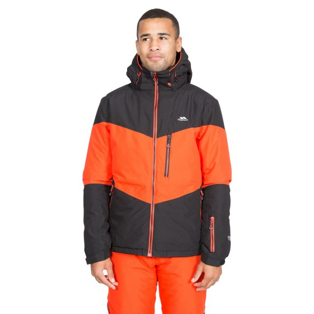 Alport Men's Waterproof Ski Jacket in Black