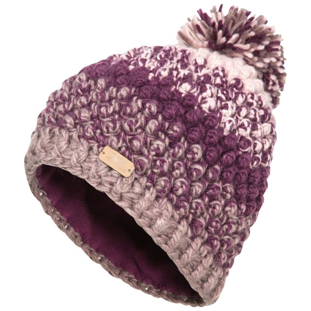 Alver Women's Hand Knitted Bobble Hat