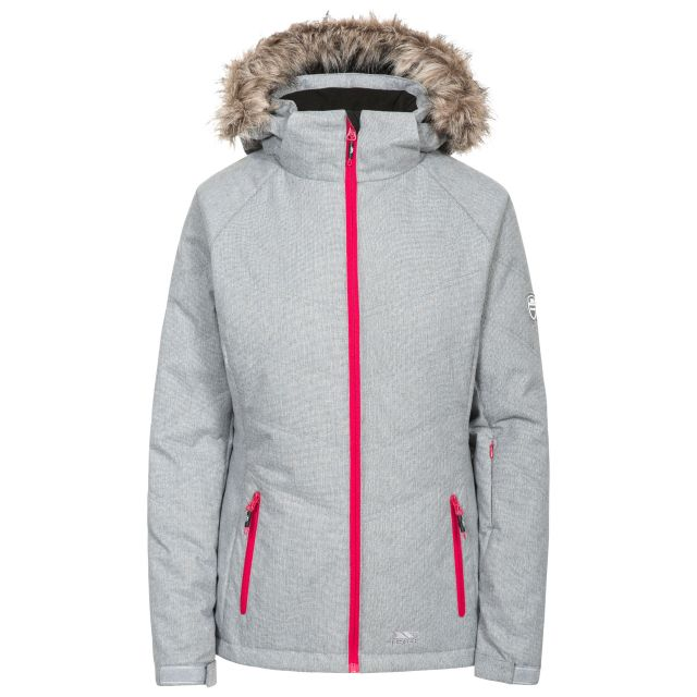 Always Women's Ski Jacket in Light Grey