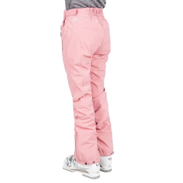 Amaura Women's Softshell Ski Trousers in Pink