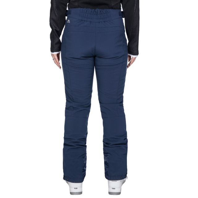 Amaura Women's Softshell Ski Trousers in Navy