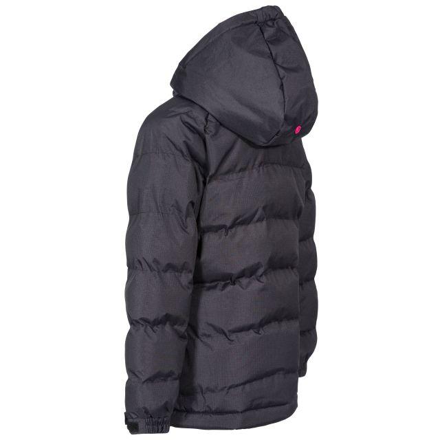 Trespass Kids Padded Casual Jacket in Black Amira