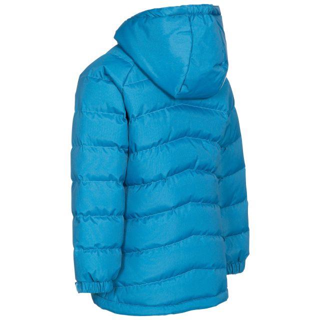 Trespass Kids Padded Casual Jacket in Blue Amira