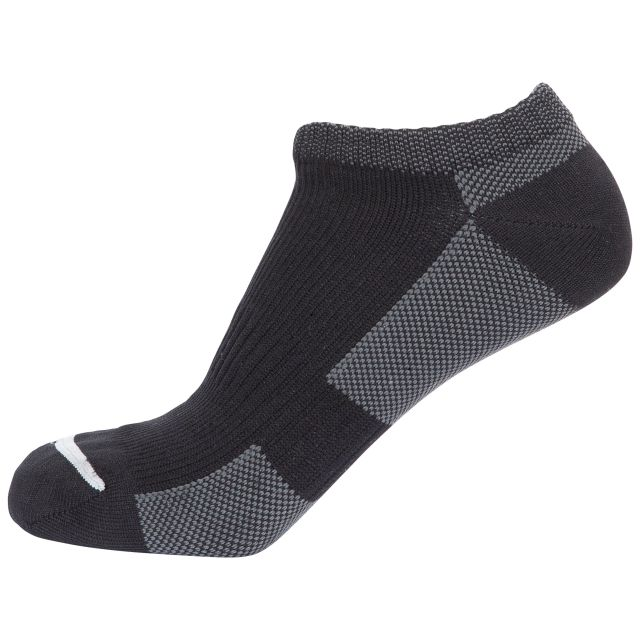 Amphibian Unisex DLX Waterproof Trainer Socks in Black