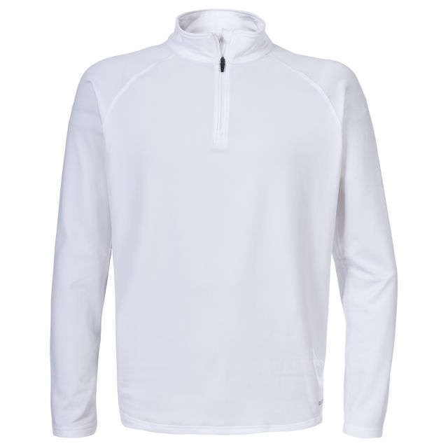 Anaw Men's Quick Dry Active Top in White
