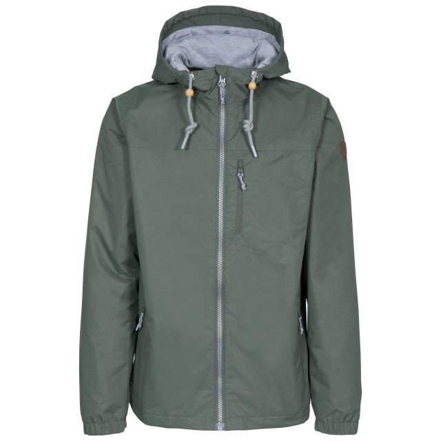 Anchorage Men's Waterproof Jacket in Green