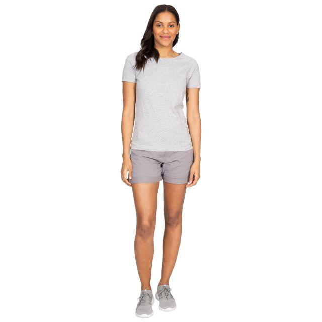 Ani Women's Printed T-Shirt in Grey