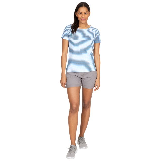 Ani Women's Printed T-Shirt in Light Blue