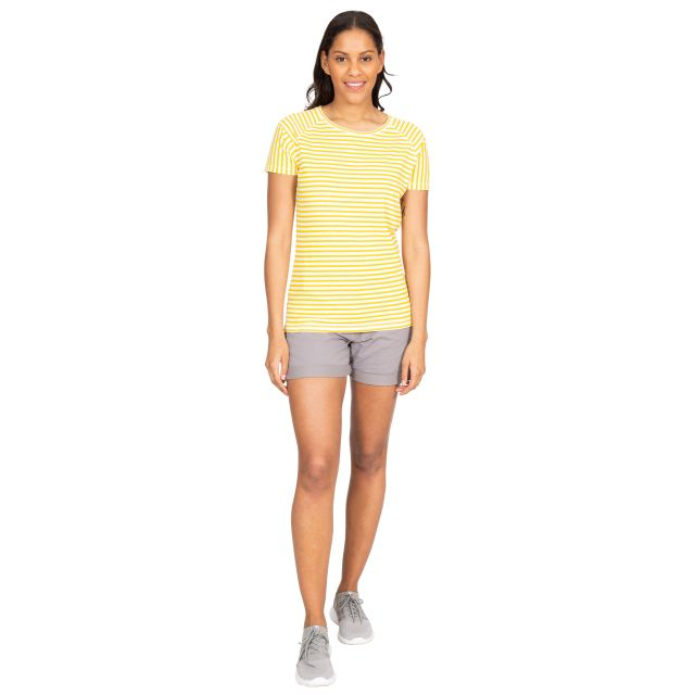 Ani Women's Printed T-Shirt in Yellow