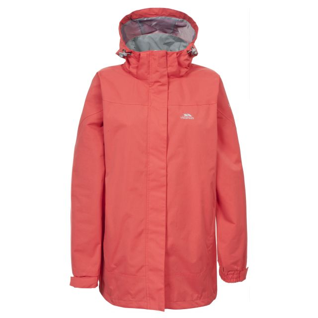 Anne Womens Waterproof Jacket in Light Pink